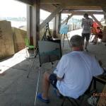 Estemporanea Pittura - Pesaro- quei del port 2015
